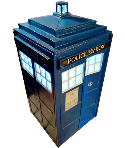 DIY mini TARDIS