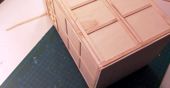 DIY Mini TARDIS - Teil 3.2